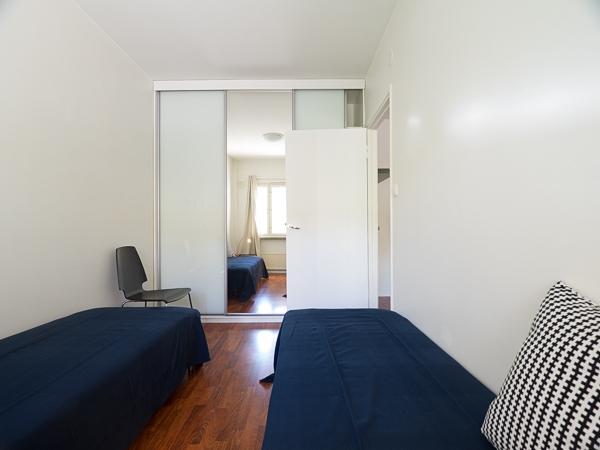 Kalustettu asunto | Makuuhuone | Kustaankatu 3, Kallio, Helsinki